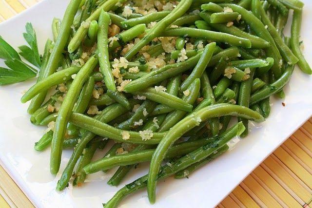 Рецепт Стручковая зеленая фасоль с чесноком и хлебной крошкой (fagiolini all aglio e mollica), пошагово, с фото – Рецепты итальянской кухни