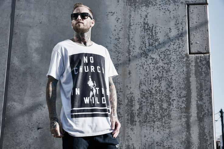 NO CHURCH IN THE WILD | By #deathbyzero #tshirts #streetwear #menswear #melbournemade #houseoftees