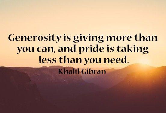 25+ Best Generosity Quotes On Pinterest