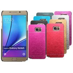 [US$3.88] Durable Brushed Metal Hard Back Cover Case For Samsung Galaxy Note 5 N920  #back #brushed #case #cover #durable #galaxy #hard #metal #n920 #note #samsung
