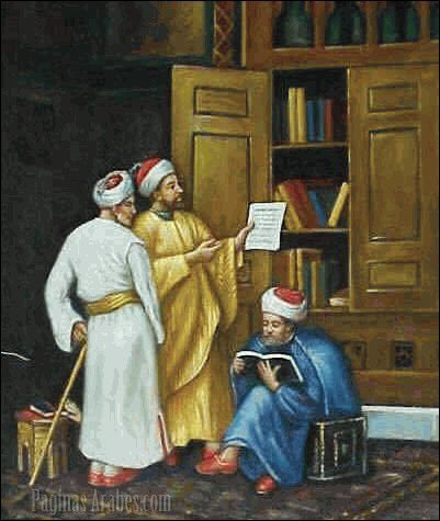 La poesía en lengua árabe se nutrió al principio de los poemas amorosos y heroicos compuestos por los beduinos del Hiÿaz...