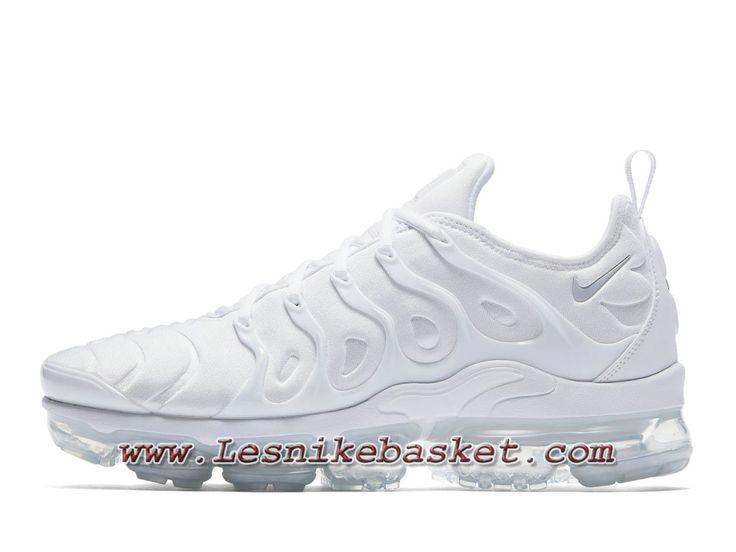 Nike Air VaporMax Plus Triple White 924453_100 Chaussures Nike Prix Pour  Homme Blanc