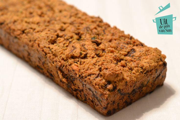 Courgette kaas brood - Uit de pan van San