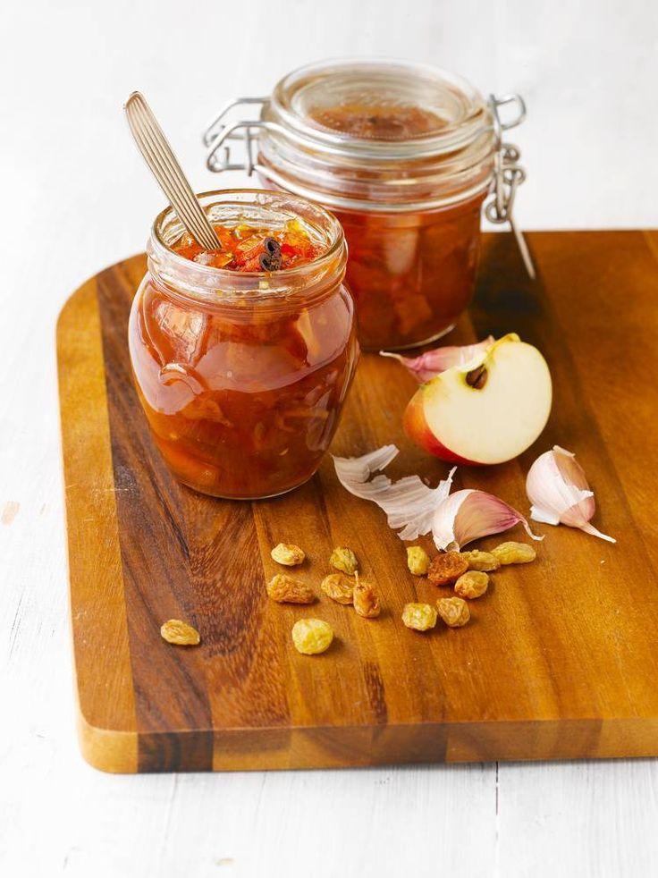 Omena-inkiväärichutney | Rajamäen