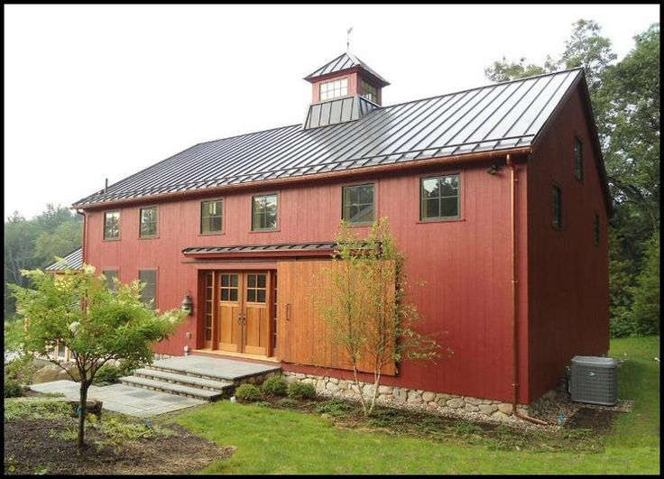 350 best barn or farm house images on pinterest cottage for Cool pole barns