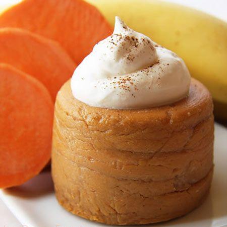 Haitian Pumpkin Banana Dessert. I am going to veganize this! Skip the egg, the creamers, and animals milk.