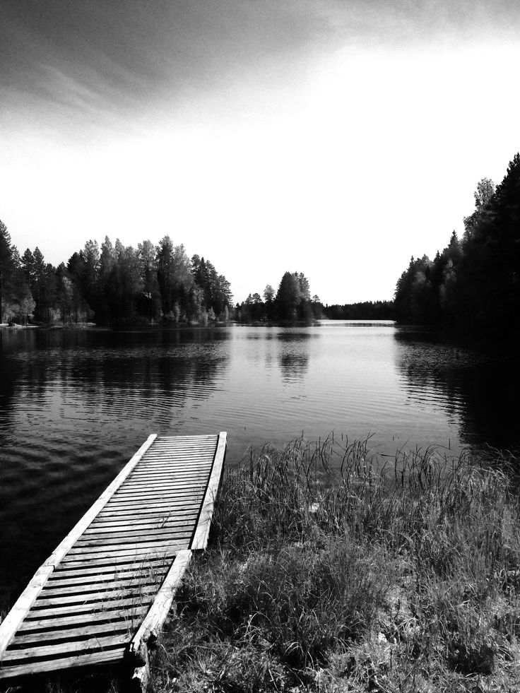 One of the thousands of lakes in Finland, Siikajärvi.