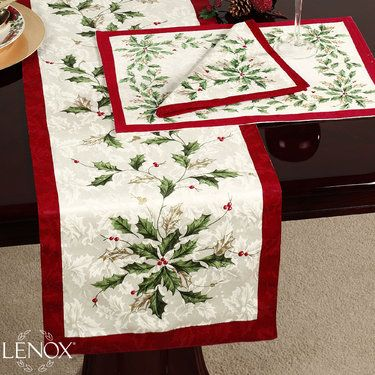 1000 images about a lenox home christmas on pinterest for Instructions to make christmas table decorations