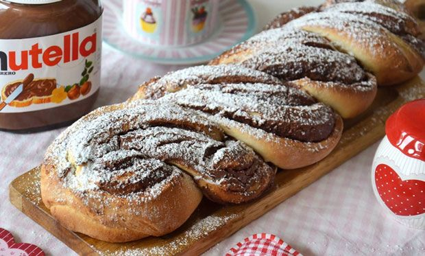 brioche tress e au nutella avec thermomix recettes thermomix. Black Bedroom Furniture Sets. Home Design Ideas