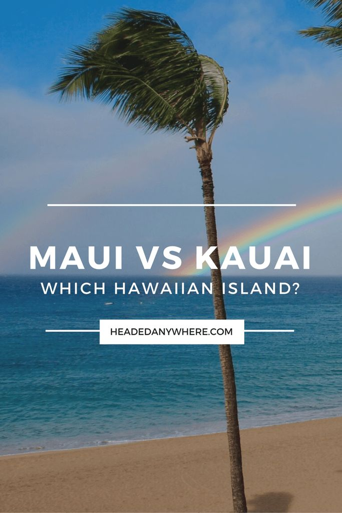 Deciding which island is a great problem to have, click through to learn more about Maui and Kauai to help you make your decision. Which Hawaiian Island? Maui vs Kauai