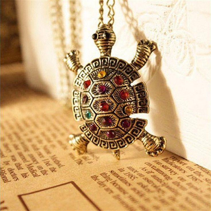 Tortoise Chain Necklace