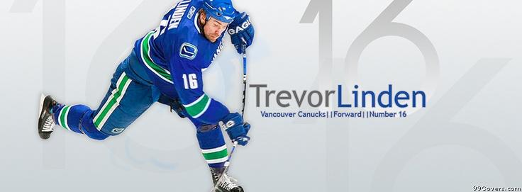 Vancouver Canucks Trevor Linden Facebook Covers