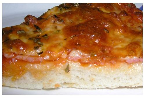 - Masa de pizza italiana