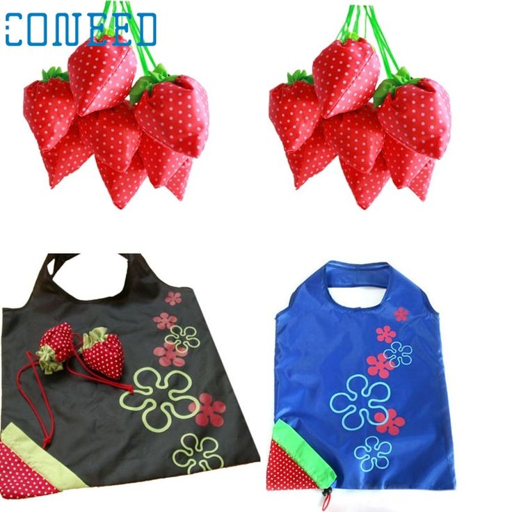 Cheap fruit net bag, Buy Quality bag natural directly from China bag light Suppliers: Mosunx Business  New Simple Strawberry Fruit Green Folding Convenience Shopping Bag