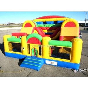 Online cheap inflatable bouncers blast zone magic castle inflatable bouncer