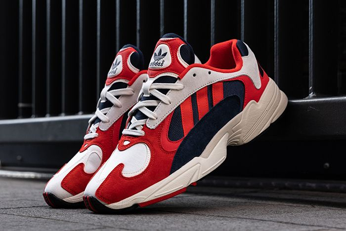 Up Close with the adidas Yung-1 'Red/White/Blue' and 'Orange ...