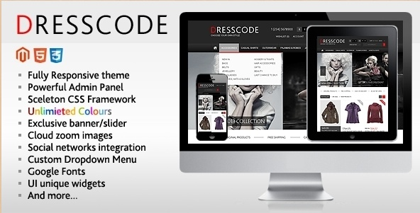 Some of the premium Magento templates of 2012