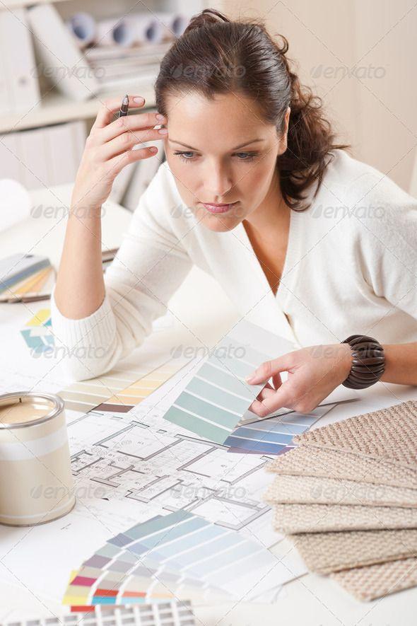 pictures of interior designer at work - How Interior Designers Work