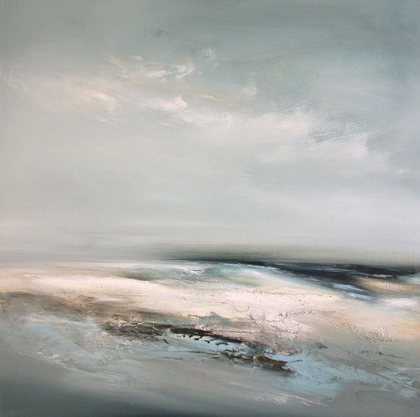 Offshore. 101.5cm x 101.5cm, oil on canvas. Dion Salvador Lloyd