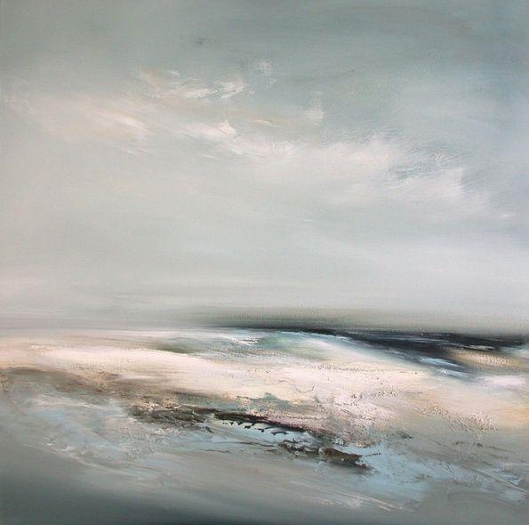 Offshore. 101.5cm x 101.5cm, oil on canvas. Dion Salvador Lloyd