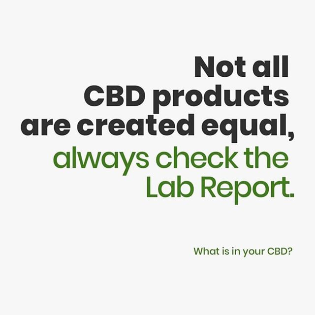 Third Party Lab Testing CBD