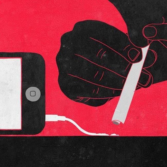 Teknolojinin Hayatımıza Etkilerini Anlatan 20+ İllüstrasyon: Sergio Ingravalle Sanatlı Bi Blog 20