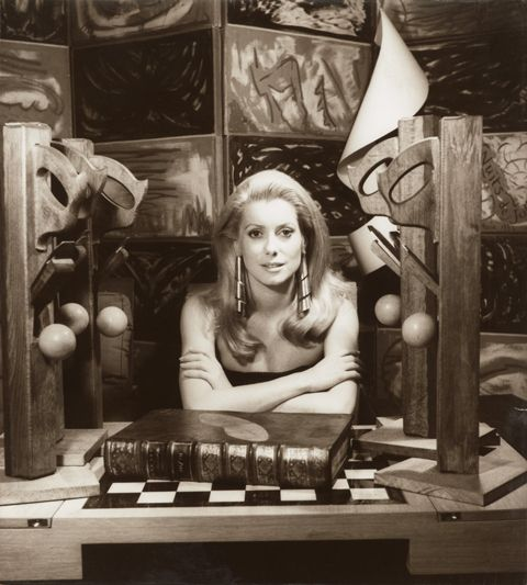Man Ray - Catherine Deneuve 1968