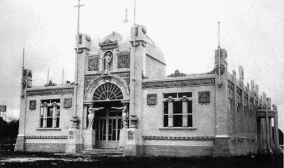 Arq. Atilio Locati - Pabellón de Tucumán, Salta y Jujuy - Expo Centenario 1910 (Demolido)