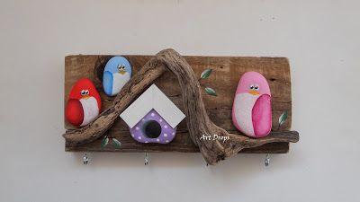 Art Drops: BIRDS, OWL ...