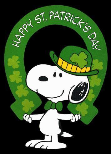 Snoopy~HAPPY ST. PATRICK'S DAY