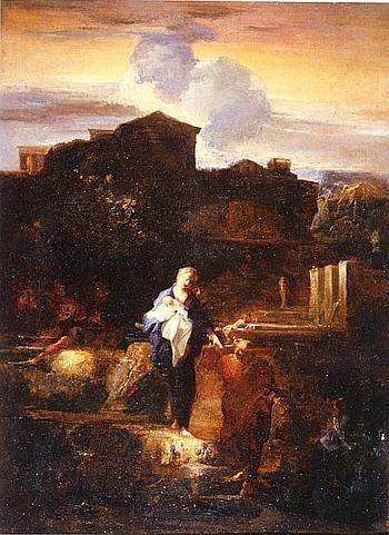 La Fuite en Égypte, de Louis Cretey. (Aix-en-Provence/Musée Granet/B. Terlay)
