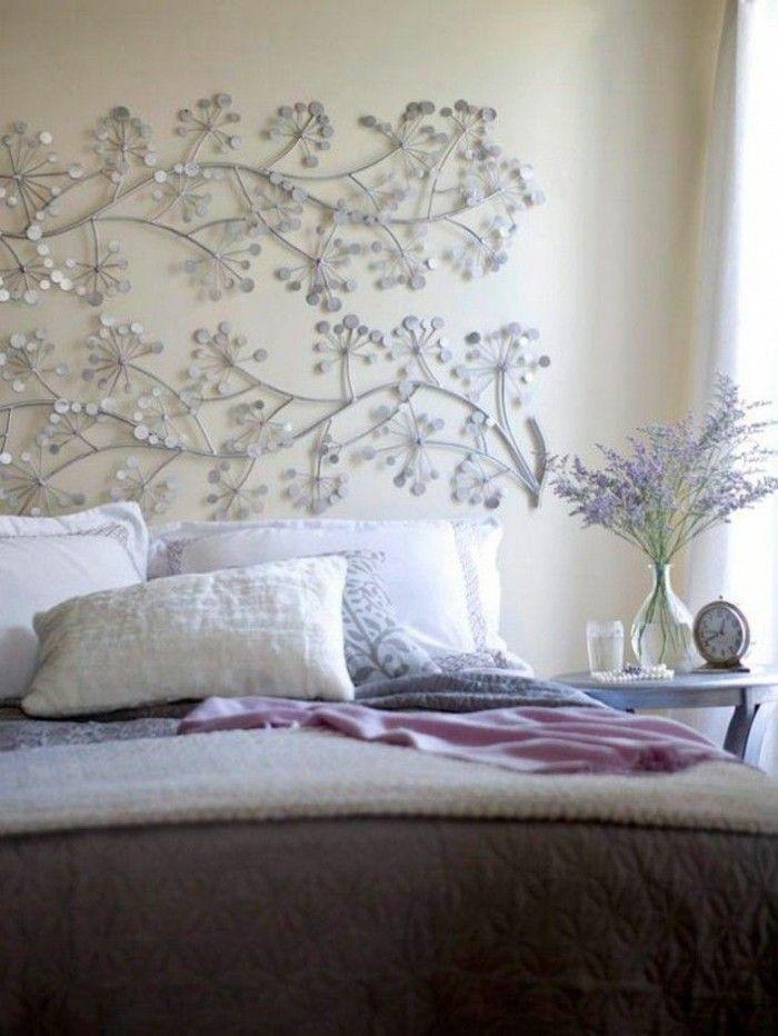 jolie tete de lit alinea , tete de lit a faire soi meme dans la chambre à coucher moderne