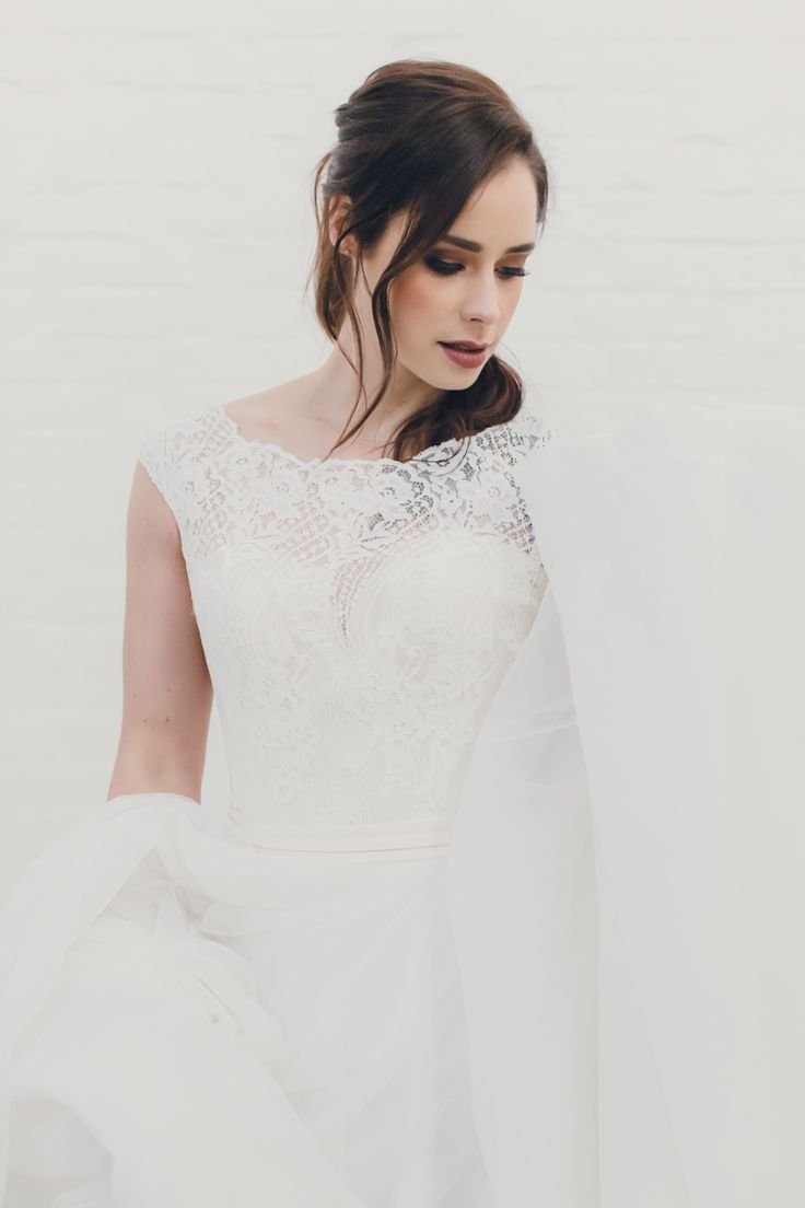 Modern Romantic Wedding Inspiration - Polka Dot Bride | Photo by The Bower Co http://www.thebowerco.com/