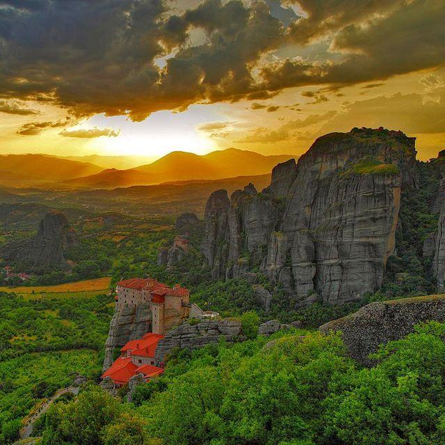 Monasteries @ Meteora Greece