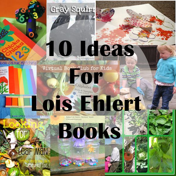 Activities for Lois Ehlert Books