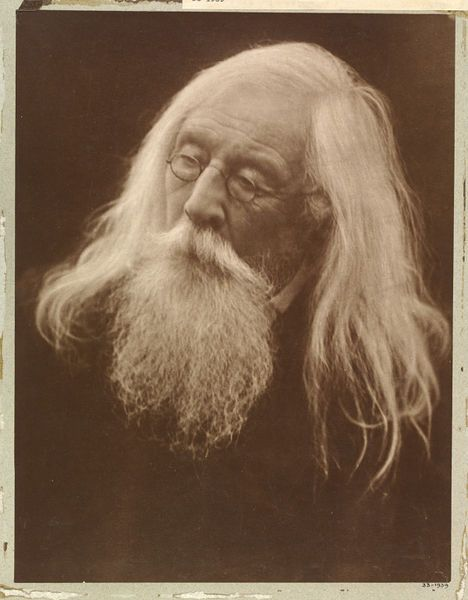 Charles Hay Cameron by Julia Margaret Cameron, England, 1871 l Victoria and Albert Museum #Photography