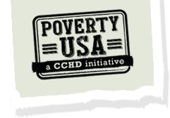 The main goal of Poverty USA is to educate and promote understanding about poverty and its root causes which their website does just that. At the top of the website it has five different categories: our mission, we can make a difference, poverty resources, get involved, and learn about the state of poverty.