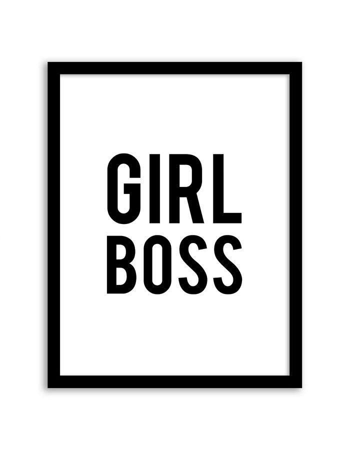 Download and print this free printable Girl Boss wall art for your home or office! Directions: Unlock the files. Once you unlock the files (by sharing, liking, following), the download buttons will appear. Click the download button below to download the PDF file. Press print. PERMITTED USE: This file is forpersonal use only. If you...