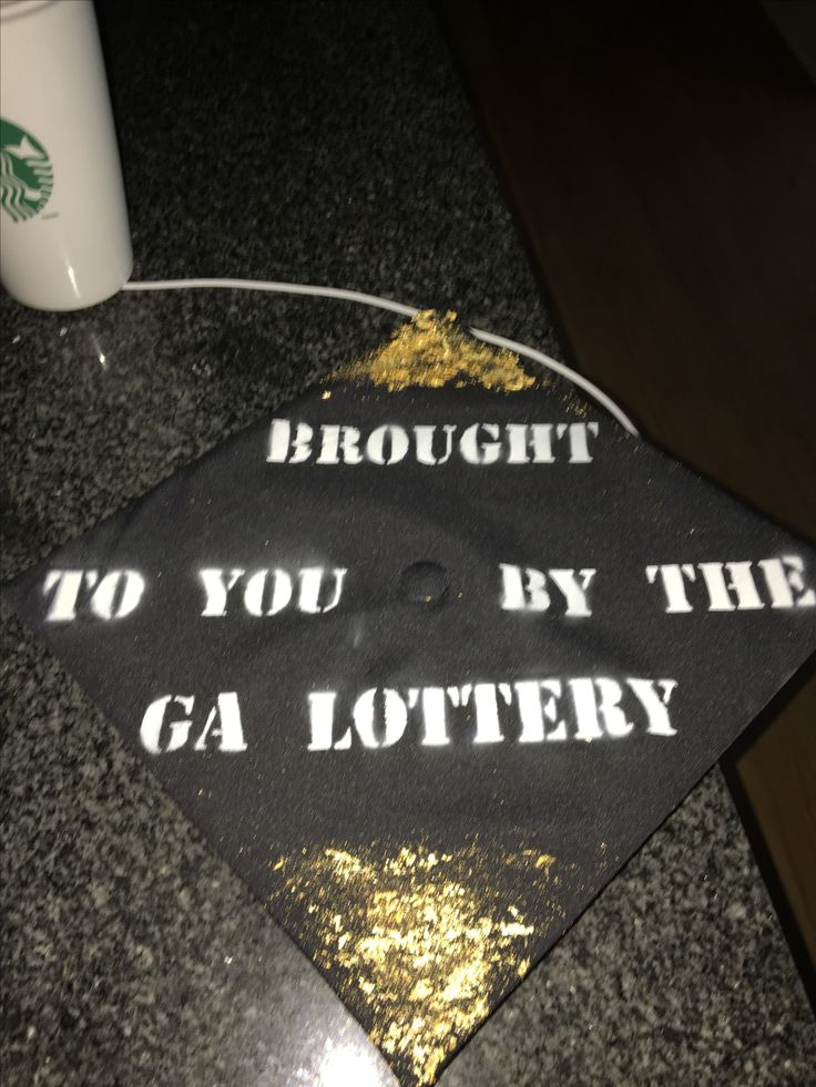 Georgia Tech grad cap DYI 2017. So thankful for the ga lottery funded Zel Miller scholarship that paid my tuition all four years