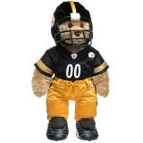 Build-A-Bear Workshop Curly Teddy in Pittsburgh Steelers Uniform - NCAA Football Games - Zimbio
