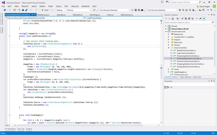 Xamarin for Visual Studio - Build native mobile apps in C# for iOS, Android, Mac and Windows - Xamarin