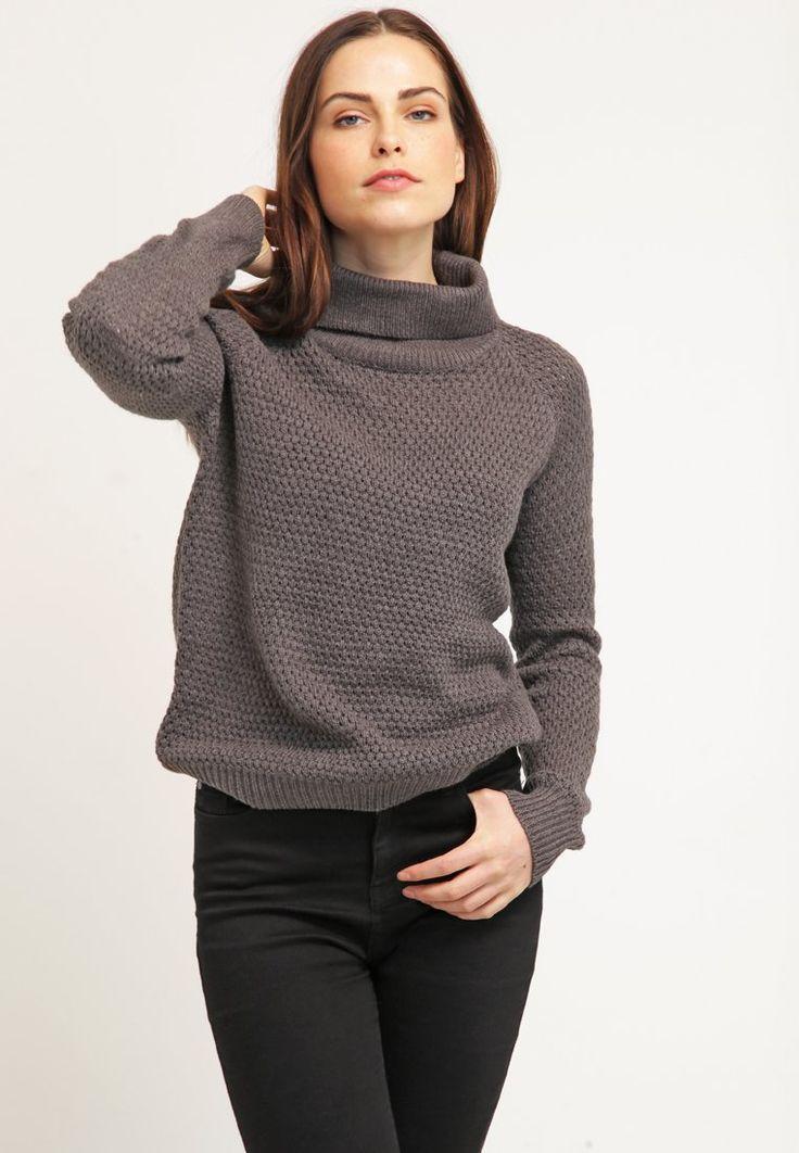 Object Sweter - medium grey melange - Zalando.pl