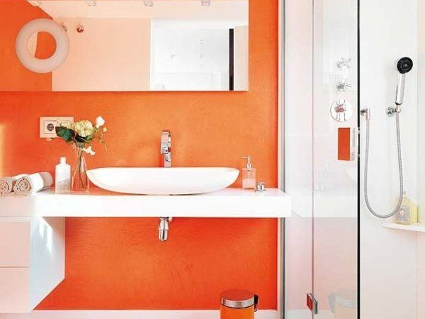 Schön These Bathroom Designs Are So Modern That They Have You Wondering How They  Are Possible | · Bad FarbenOrange BadezimmerHütte ...