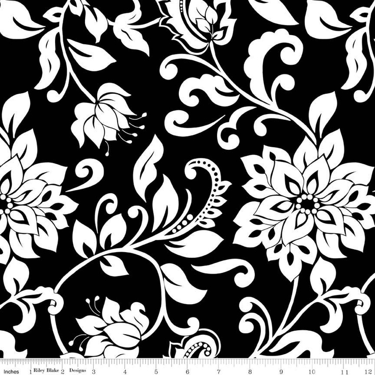 17 best images about lila tueller designs on pinterest for Black and white fabric