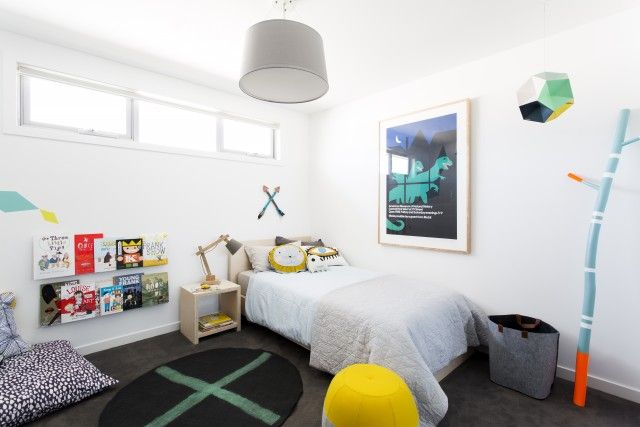 Stylist Aimee Tarulli's big boy room for toddler son Leo
