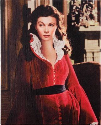 Scarlet O'Hara is loved & hated but she was a strong Southern woman who knew how to survive. Personally I love her!