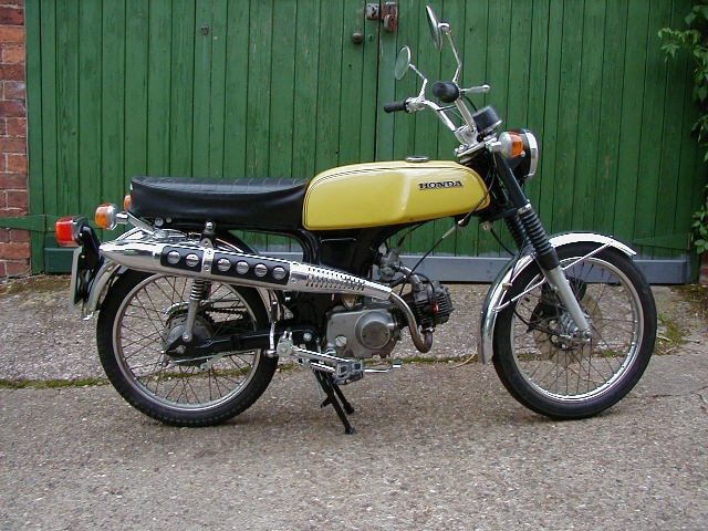#Honda SS50 5 Speed. My first bike. 16 years old and as happy as...