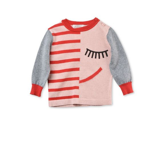 Shop the Lucky Knit Face Print Jumper by Stella Mccartney Kids at the official online store. Discover all product information.