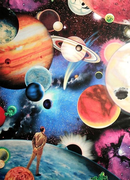 De pé no Universo