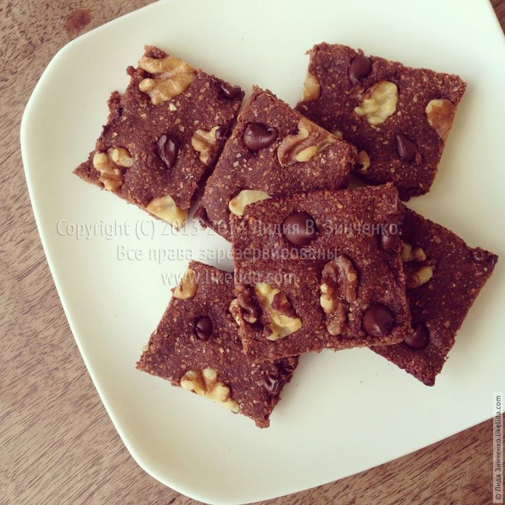 Chocolate bars with chickpea flour